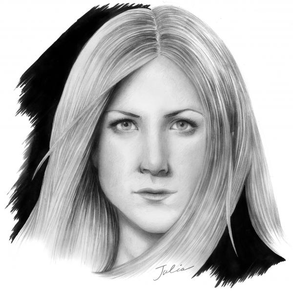 Jennifer Aniston by JuJu